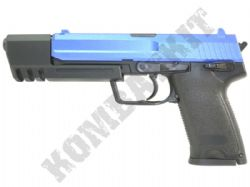 HFC9603 USP Gas Blowback Airsoft BB Gun Black and Blue
